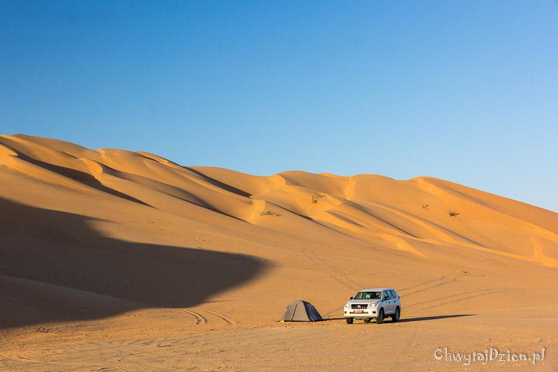Oman pod namiotem