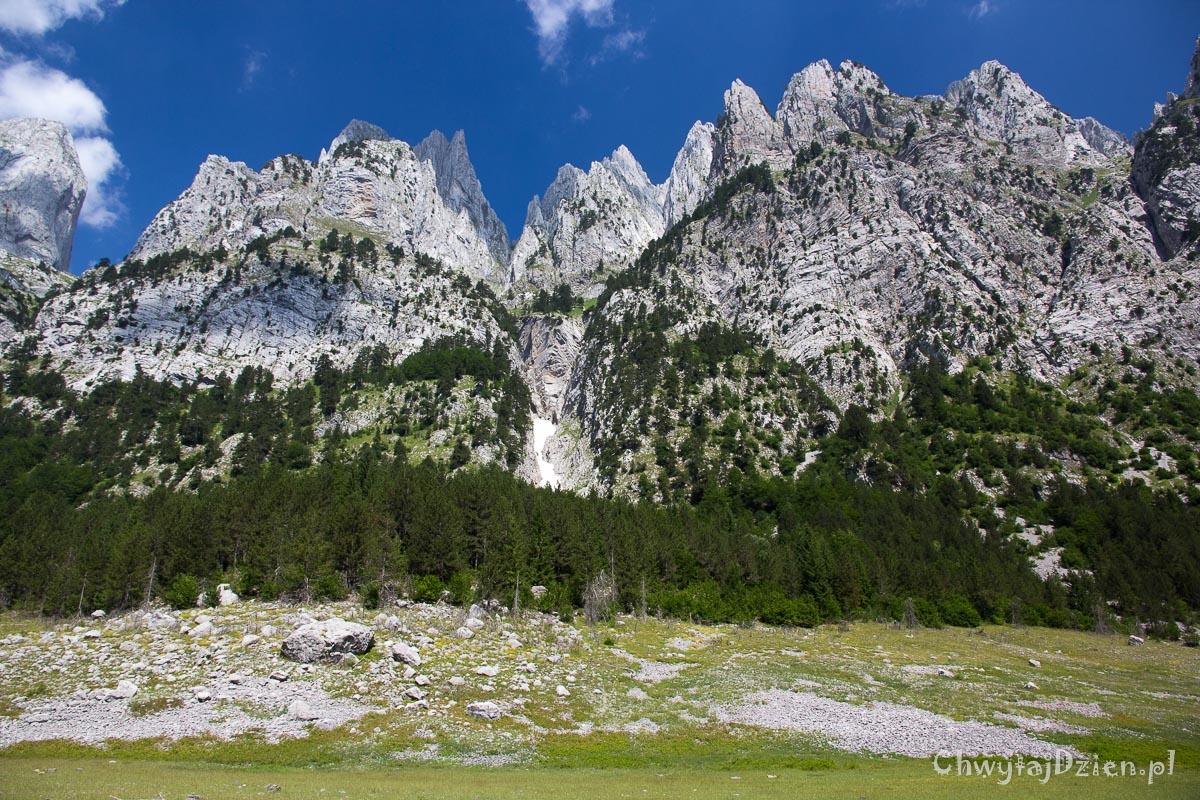 Góry Przeklęte na granicy Czarnogóry z Albanią
