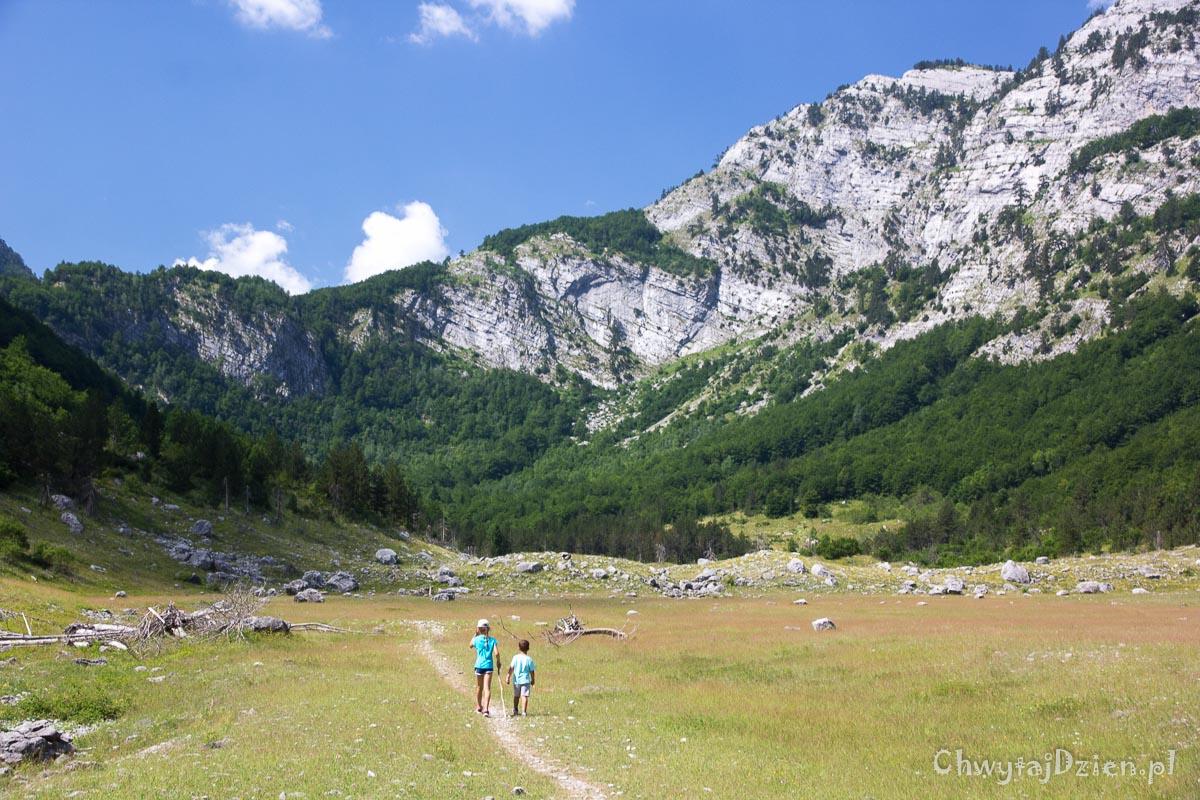 Góry Przeklęte - szlak do Albanii