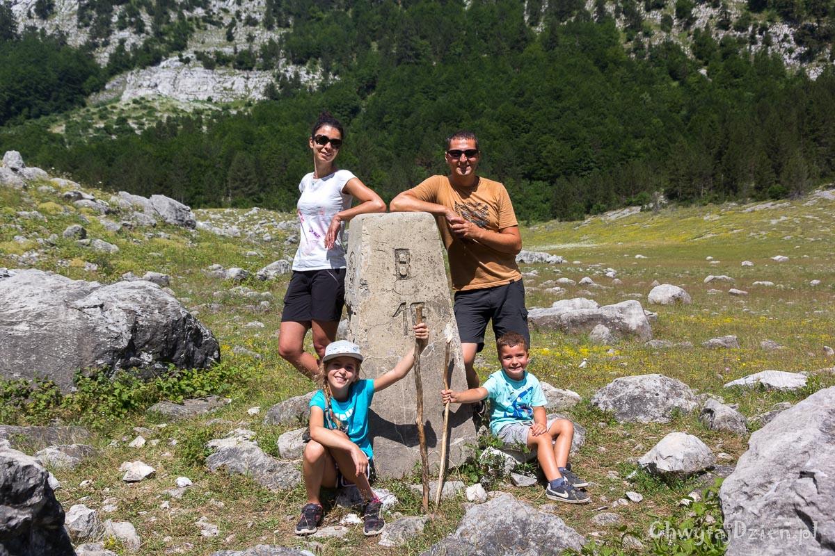 Góry Przeklęte - granica Albania-Czarnogóra
