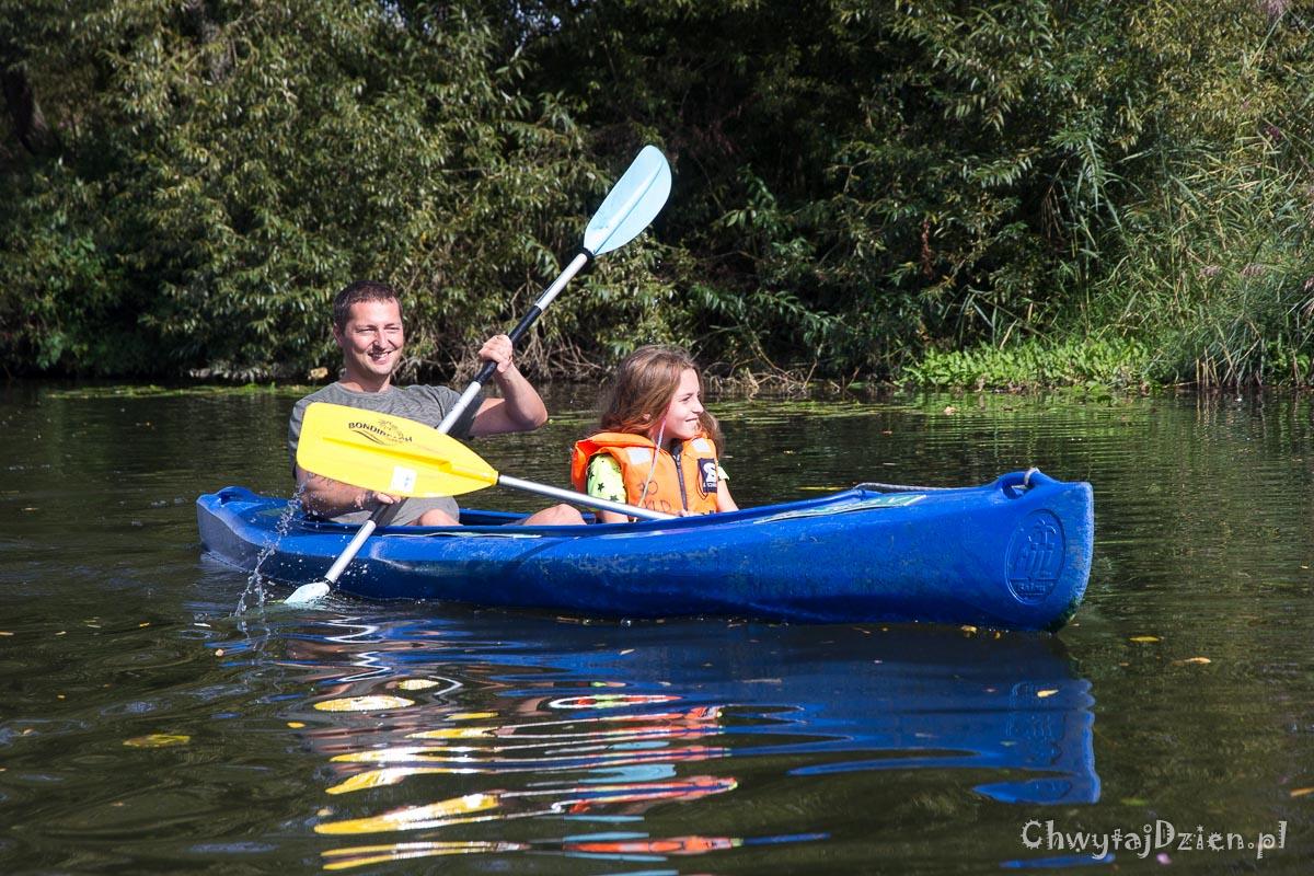 Kajaki z dziećmi - Spływ rzeką Lahn