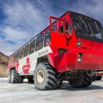 Autobusem na lodowiec