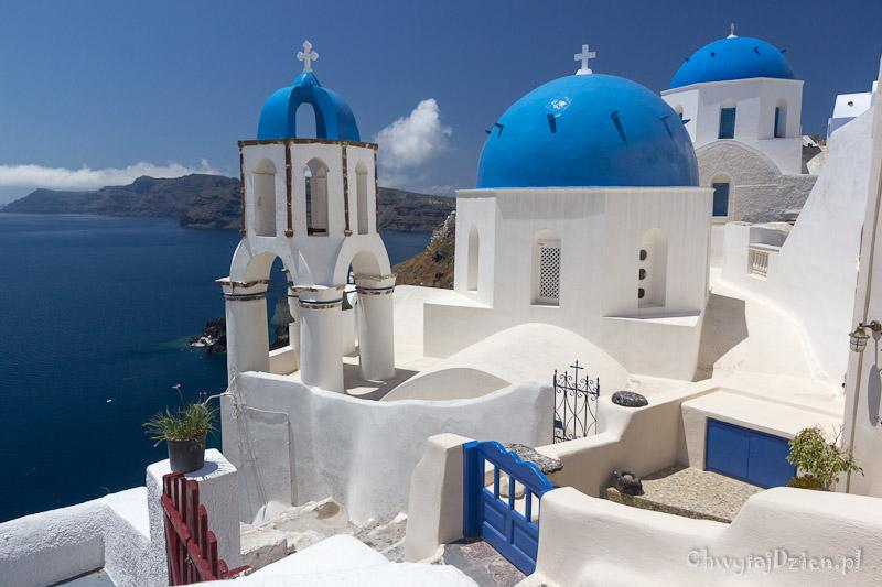 Santorini – wyspa w kształcie księżyca