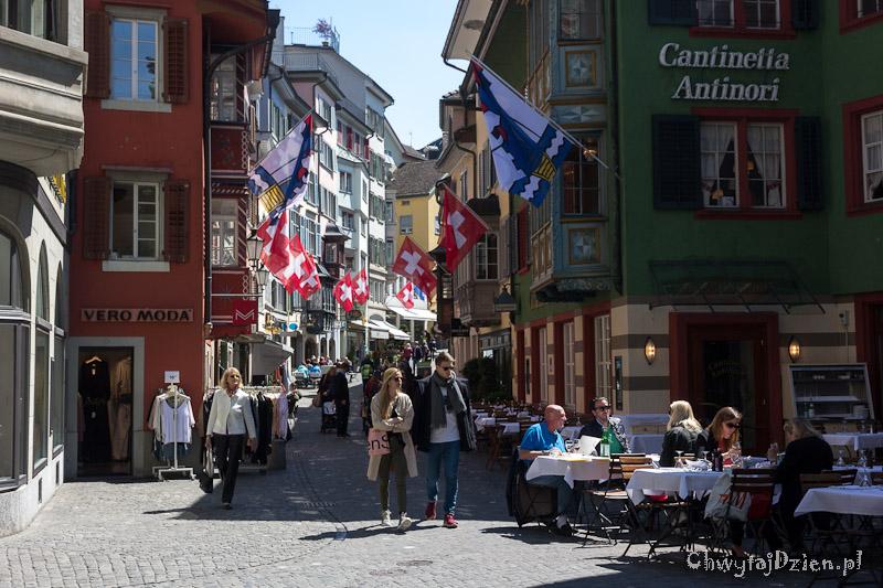 Majówka w Zurychu