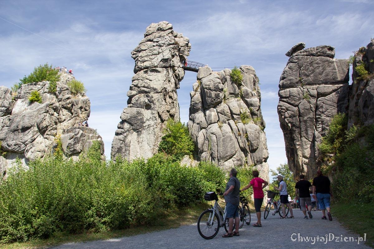 Las Teutoburski i tajemnicze skały Externsteine