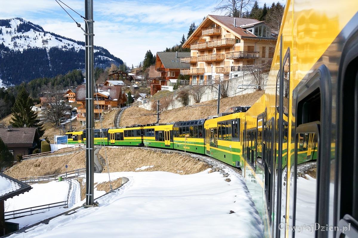Koleją na Kleine Scheidegg. Na dobry początek…