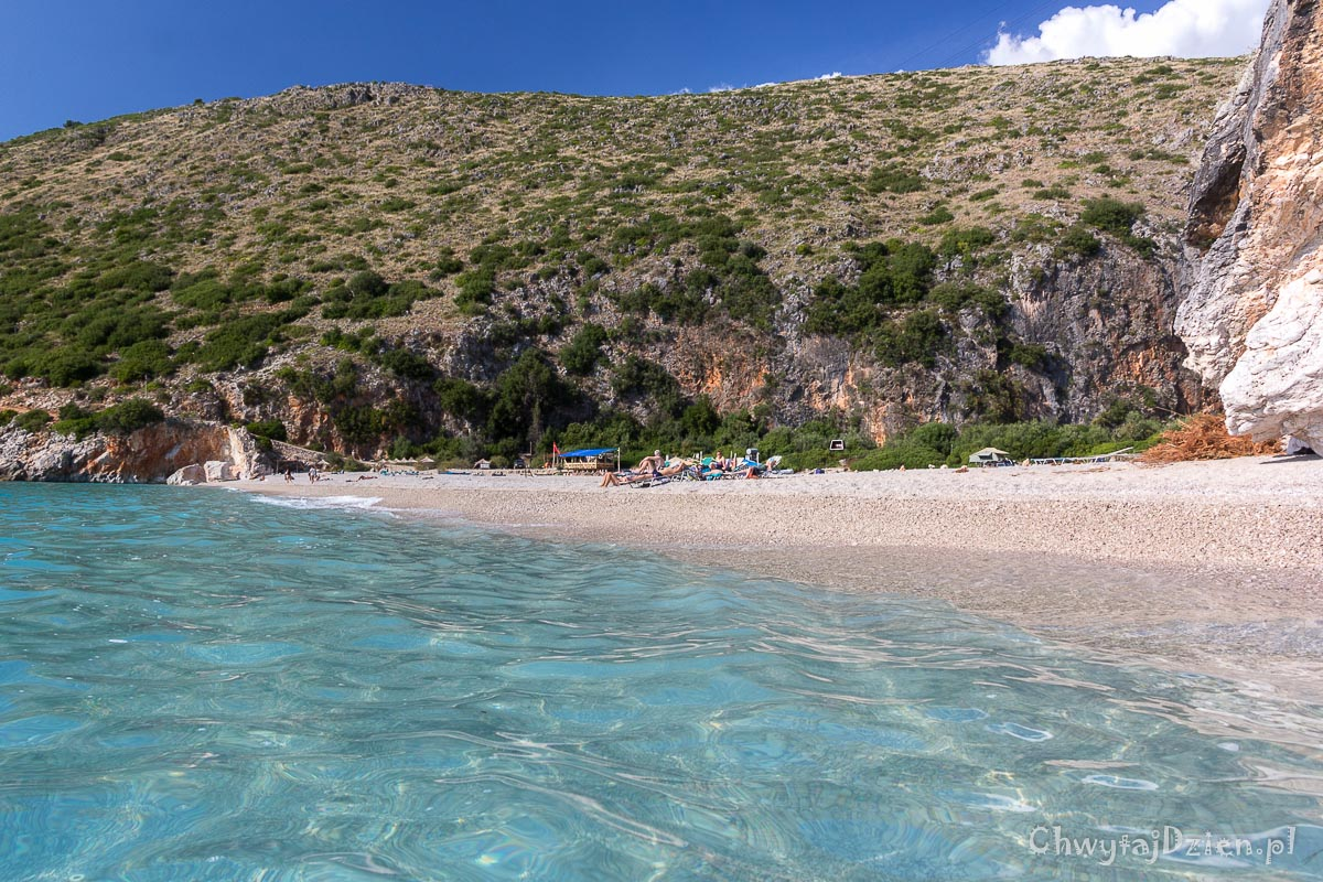 Plaża Gjipe